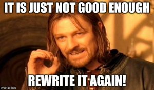 not good enough-rewrite